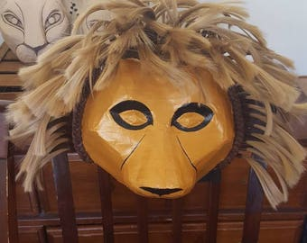 Lion king headdress, Simba or Mufasa, Lion King