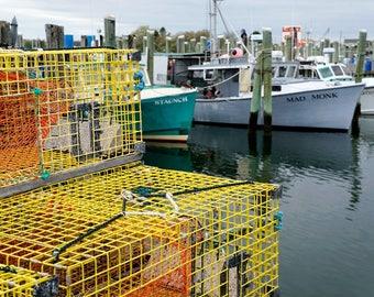 Lobster Traps, Galilee, Rhode Island