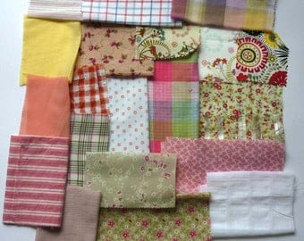 set of fabrics for patchwork 249 coupons