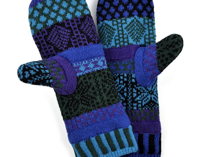 Solmate Accessories - Blue Spruce Fleece Lined Mittens Limited - Available to order through midnight November 27th!