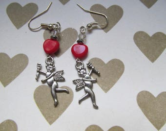 Cupid Dangle Earring