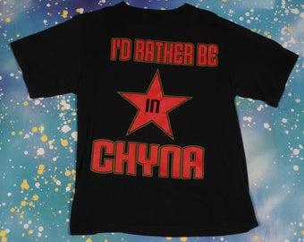 CHYNA WWF Wrestling T-Shirt Size L