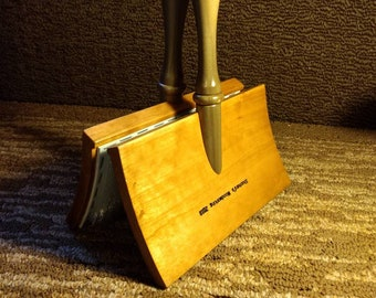 Wooden Hand Carders Cherry 120 tpi with Poplar Handles