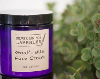 Lavender Goats Milk Face Cream