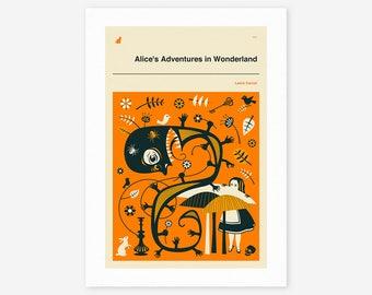 Alice's Adventures in Wonderland (Giclée Fine Art Print/Photo Print/Poster Print)