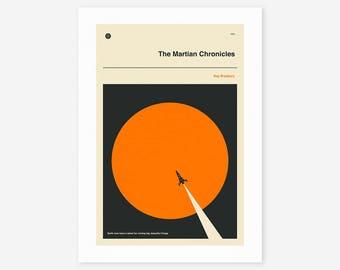 THE MARTIAN CHRONICLES (Giclée Fine Art Print/Photo Print/Poster Print)