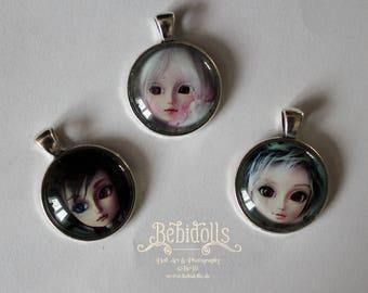 Custom Doll Pendant