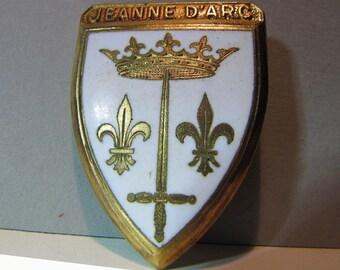 Vintage medal, french navy,  Jeanne d'Arc, croiseur-école