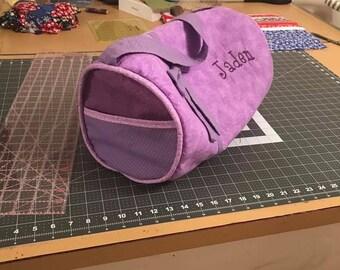 Ballerina Bag - Custom Tote Bag - Child's Duffel Bag - Customized Gym Bag - Cute Customized Child's Ballerina Bag
