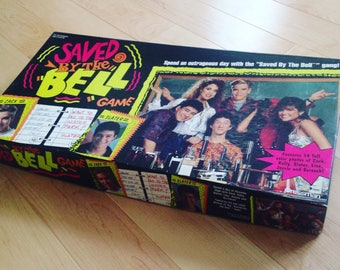 Vintage 1992 Saved By the Bell Boardgame