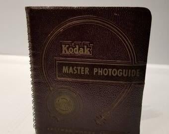 KODAK MASTER PHOTOGUIDE - 1st 1952 Printing
