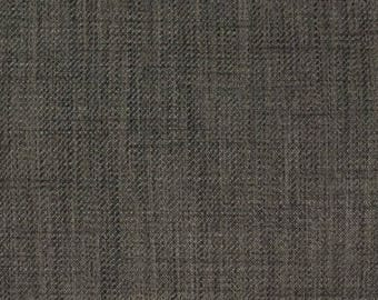 Dark Grey Upholstery Fabric   Durable Woven Upholstery Fabric For Furniture    Solid Pewter Grey Fabric