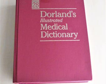 Dorland's Illustrated Medical Dictionary,  Hardcover, 28th Edition
