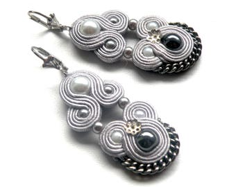 Earrings-Soutache Jewelry-Classic
