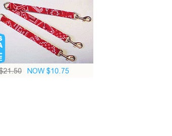 Sale - 50% Off The Coupler Leash - with Adjustable Individual Leashes!