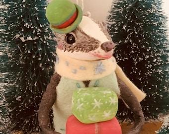 De heer Badger, Cupcakebears, kerstboom decoratie