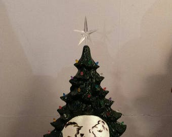 Character Ceramic Christmas Trees