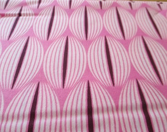 Quilting weight cotton fabric For You All Lined Up in Raspberry by Zen Chic for Moda 1 yard
