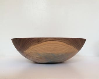 Large Walnut Salad Bowl by WILLFUL | Salad bowl, Serving bowl, Catch all, Popcorn Bowl, Wedding Gift