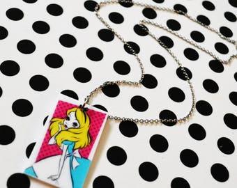 choix de Collier pendentif Alice et Ariel/ Alice or ariel pendent necklace