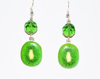 Boucle d'oreille Kiwi / Kiwi earring