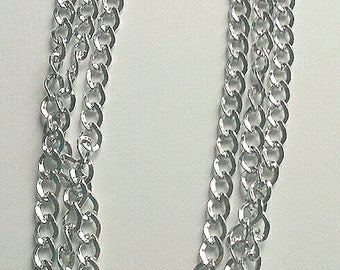 3 Strand Chain Necklace