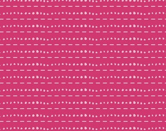 Les Points Rose - knit -Cherie from Art Gallery Fabrics