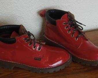 Vintage 90's  Dr. Martens Boots Red Sz UK4/USA6 /Europe37