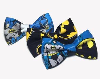 Bow Ties For Men, Batman Bow Tie, Bow Ties For Boys, Baby Bow Tie, Blue Bow Tie, DC Comics, Superhero Bow Tie, Batman Accessories, Bowtie