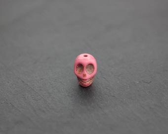 Rose skull bead