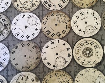 Time Pieces in Taupe from Foundations  by Tim Holtz