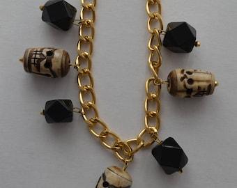 Retro Pyschobilly Tiki Gothic Totem Necklace