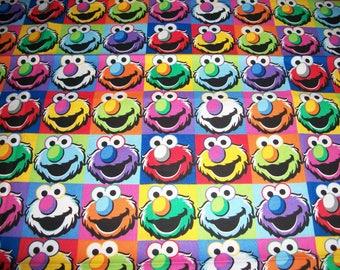 Elmo, multi colors cotton  Toddler pillowcase