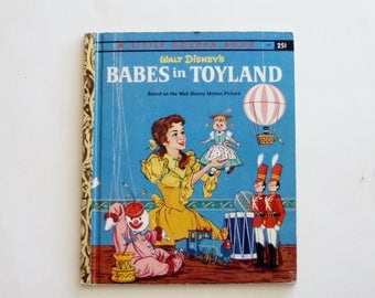A Little Golden Book: Walt Disney's Babes in Toyland