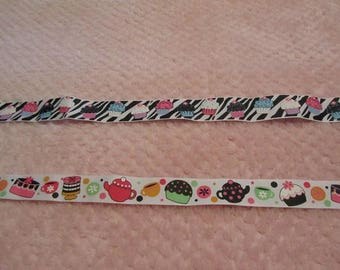 3 Yards Cup Cake One Inch Grosgrain Ribbon