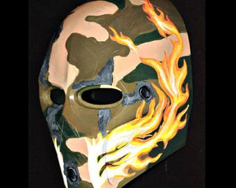 Army of two Airsoft Paintball BB Gun Prop Helmet Salem Costume Cosplay Goggle Mask Maske Masque MA73 et