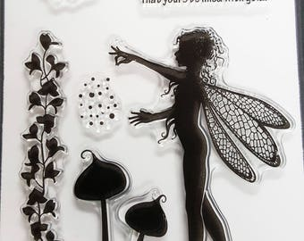 Acrylic Stamp Set Fairy 2