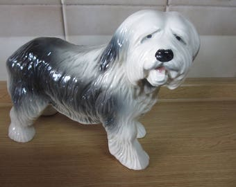 Vintage Coopercraft Old English Sheepdog
