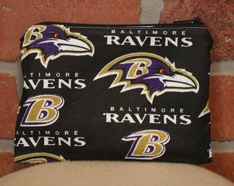 One Snack Sack, Ravens Football, Reusable Lunch Bags, Waste-Free Lunch, Machine Washable, Back to School, School Lunch, item #SS56