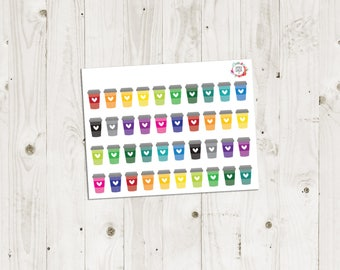 Coffee Cup Stickers - ECLP Stickers