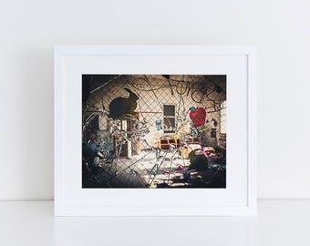Playroom Window - Urban Exploration - Fine Art Photography Print