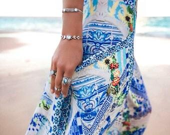 Moonstone Cuff, Moonstone Jewelry, Genuine Rainbow Moonstone Bracelet, Sterling Silver Cuff, Personalised Bracelet, Personalised Jewelry,