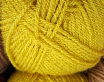 Special stylecraft double knit mustard yellow 1823