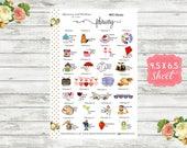 Celebrate February 2019 - Planner Sticker - National Holiday Sticker - Special Days Sticker - Wacky Holiday Sticker - Holiday Sticker - WH02