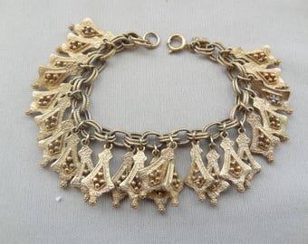 Beautiful Vintage EMMONS Dangle Bracelet