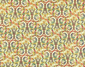 Florentine paper bright with gold print, Italy