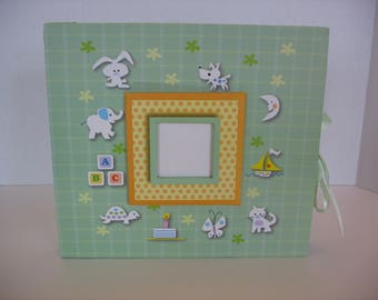 "Baby Scrapbook, Gender Neutral, 24 pages, 8"" by 8"""