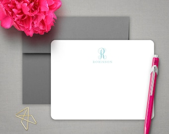 Personalized Stationery | Couples Stationary | Monogram Notecards | FAMILY MONOGRAM | Personalized Stationary Set | Monogrammed Stationery