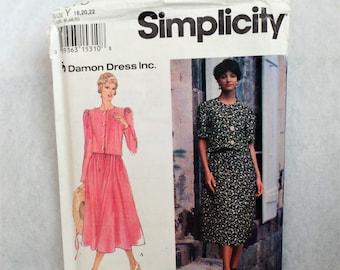 Misses Two-Piece Dress Pattern