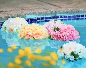Floating kissing balls, wedding floating flowers,custom made, Floating Pomanders